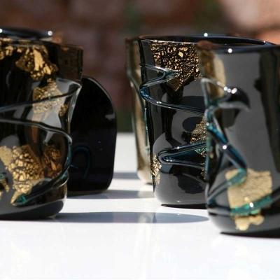 Bicchieri colorati vetro YOURMURANO