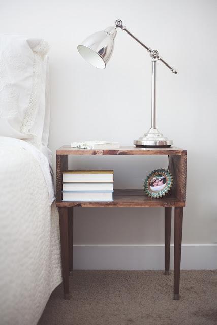 Foto - Comodini fai da te per la camera da letto