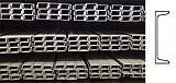 Profilato in acciaio tipo UPN con sezione a C, by Ferrosider