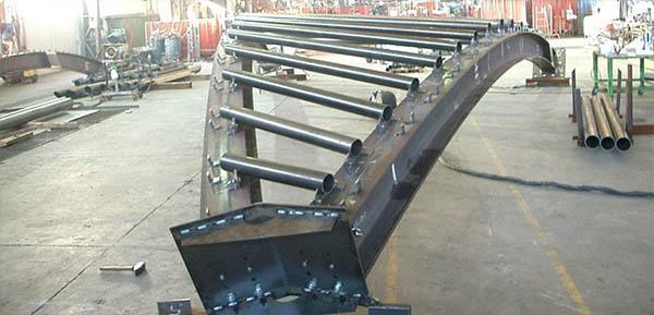 Prefabbricazione di una struttura in acciaio, by Fondazione Promozione Acciaio