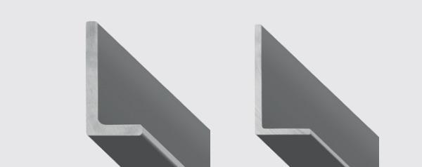 Profilati in acciaio a forma di L ad ali ineguali, by Gruppo Beltrame