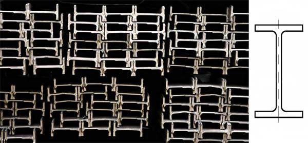 Profilato in acciaio tipo IPE, by Ferrosider