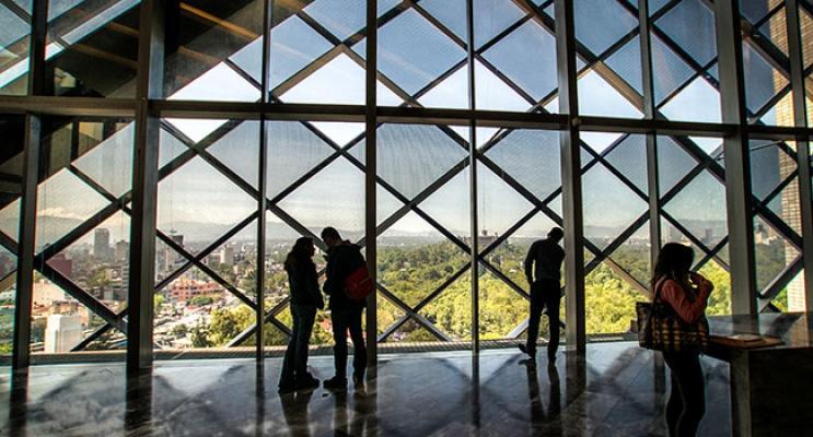 Struttura in acciaio della torre BBVA Bancomer di Città del Messico acciaio, by Fondazione Promozione Acciaio