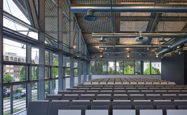 Struttura in acciaio del Campus Universitario di Novara, by Fondazione Promozione Acciaio