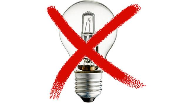 Stop vendita lampade alogene