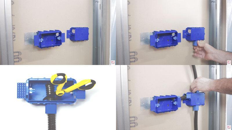 Dimensioni scatole elettriche per cartongesso