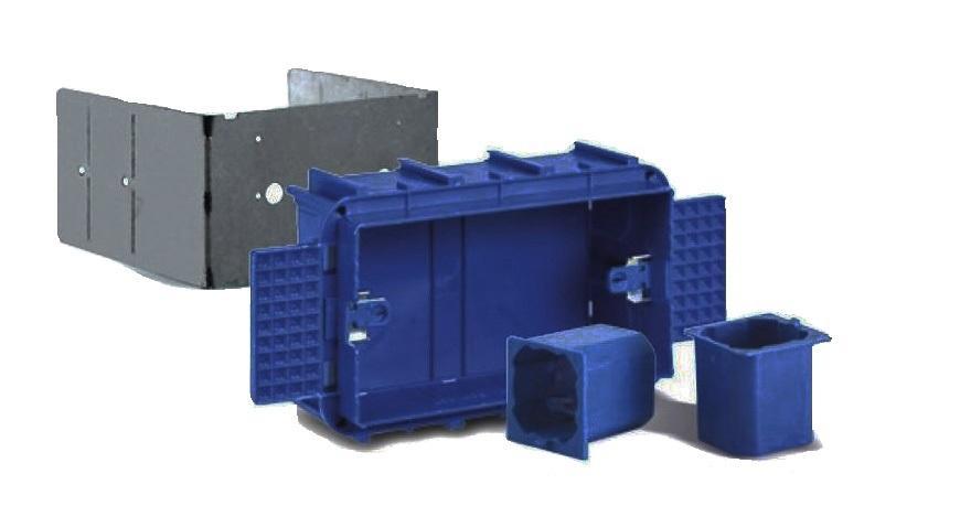 Scatole elettriche per cartongesso e accessori
