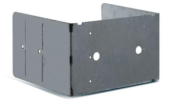 Staffa per scatole elettriche