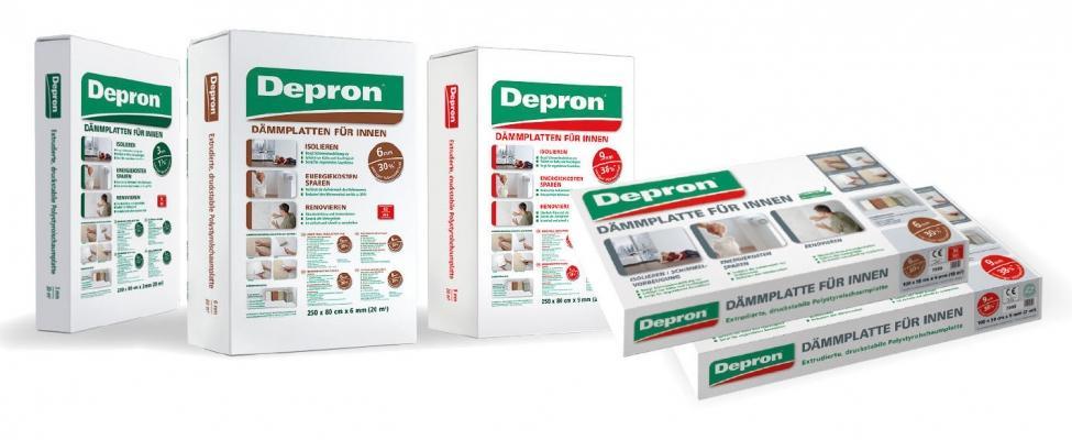 La gamma completa dei pannelli di Depron
