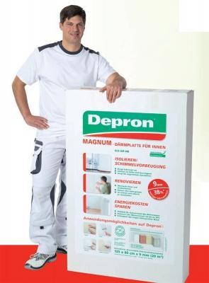 Le dimensioni dei pannelli di Depron
