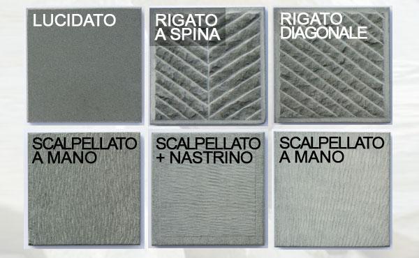 Alcune finiture superficiali della pietra serena by Raspanti