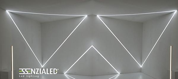 Centro di bellezza luce geometrica Essenzialed