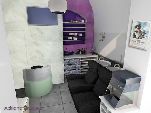 Centro di bellezza progetto Spadino Hair Stylist 2.0