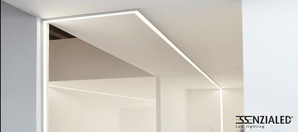 Salone di bellezza tagli luce Essenzialed