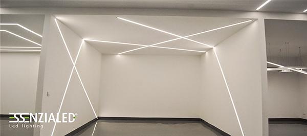 Salone di bellezza luce ad incasso parete Essenzialed