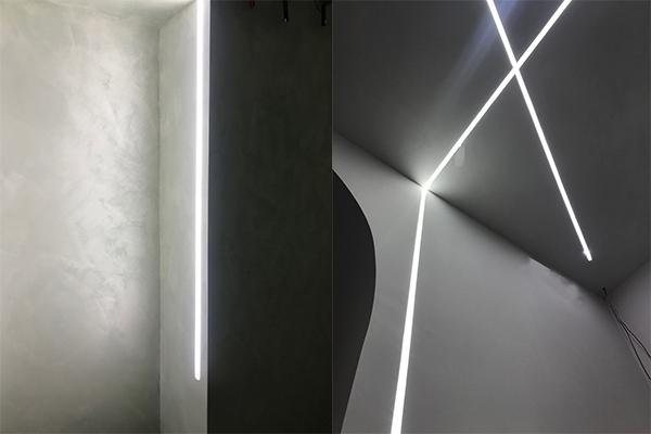 Salone di bellezza studio led Enkos design