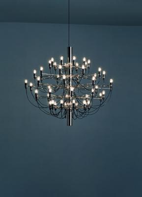 Centro di bellezza lampadario Flos design