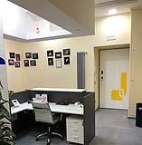 Parete cartongesso locale studio medico Enkos srl