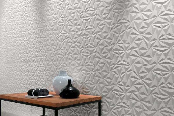 Atlas Concorde 3D Wall Design ceramica bianca