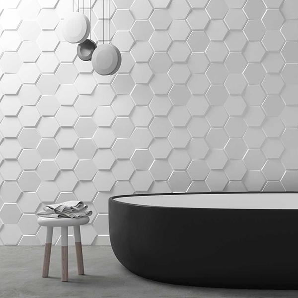 Rivestimento ceramica Hexa WOW Design