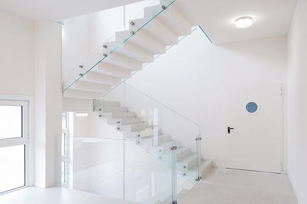 Neo Resine design palazzina scale