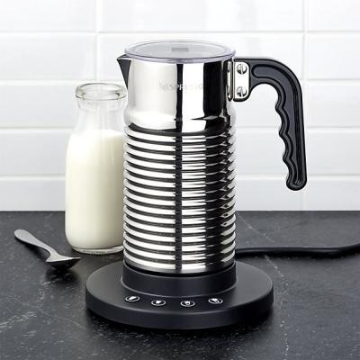 Cappuccinatore elettrico in acciaio inox, da Nespresso