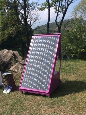 Pannello fotovoltaico portatile Pippy di Ri-Ambientando