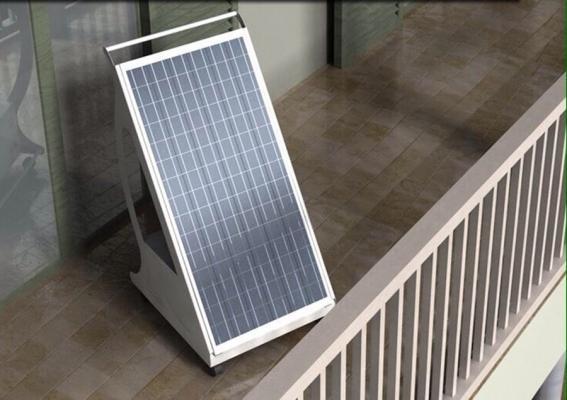 Pannello fotovoltaico portatile Pippy by Ri-Ambientando