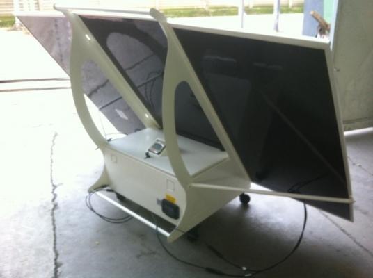 Retro del pannello fotovoltaico Pippy di Ri-Ambientando