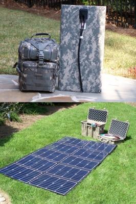 Sistema fotovoltaico di ispirazione militare di Powerenz