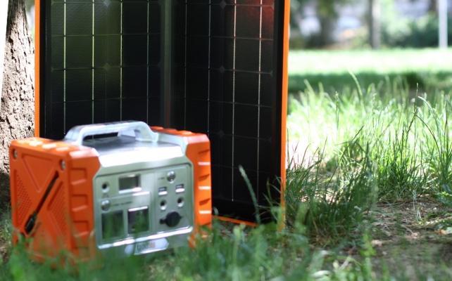 Generatore fotovoltaico portatile 40-500 by Tregoo