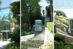 Ascensore inclinato di Maspero Elevatori installato a Villa Carlotta in provincia di Como