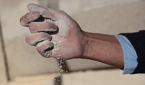 Consistenza della calce idraulica naturale, by La Banca della Calce
