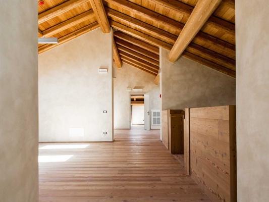 Intonaci interni in calce idraulica naturale della Calchera San Giorgio