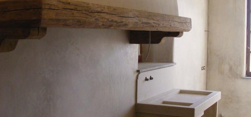 Intonaco di calce idraulica naturale CalceQualità, by La Banca della Calce