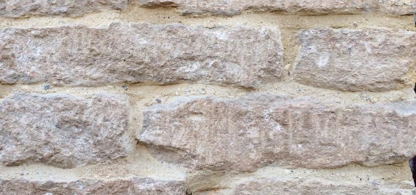 Giunti ristilati con malta di calce idraulica naturale, by La Banca della Calce
