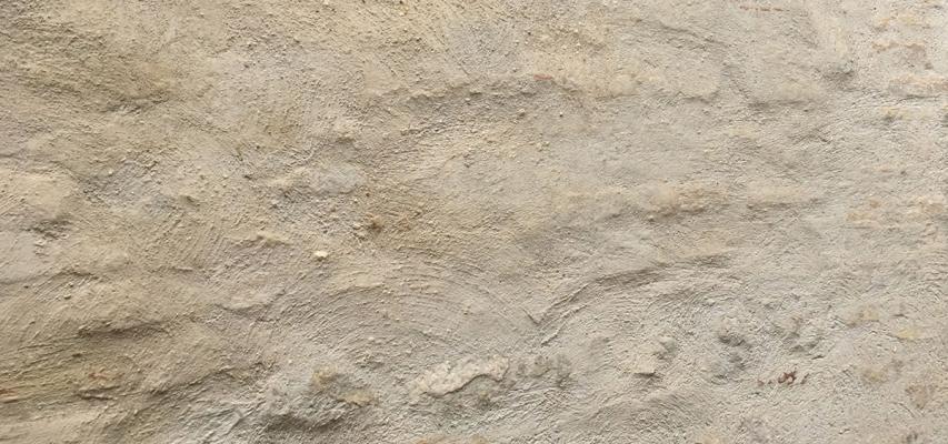 Grana dell'intonaco di calce idraulica naturale CalceQualità de La Banca della Calce