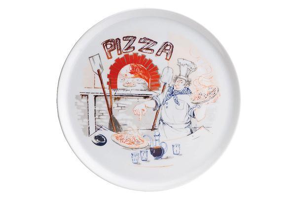 Piatto di servizio per pizza, by Tognana