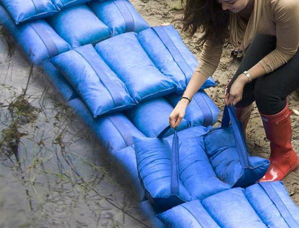 Sistemi antiallagamento per casa: sacco antiesondazione  Hydropack