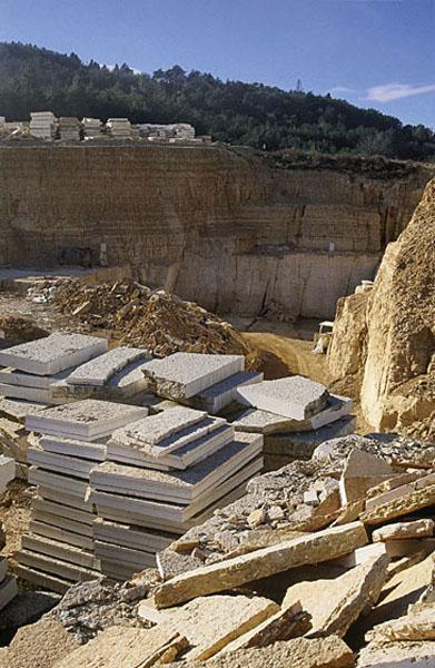 Consorzio pietra della Lessinia, cava