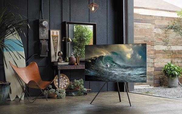 Design della serie QLED TV 2018 nuova tecnologia Samsung