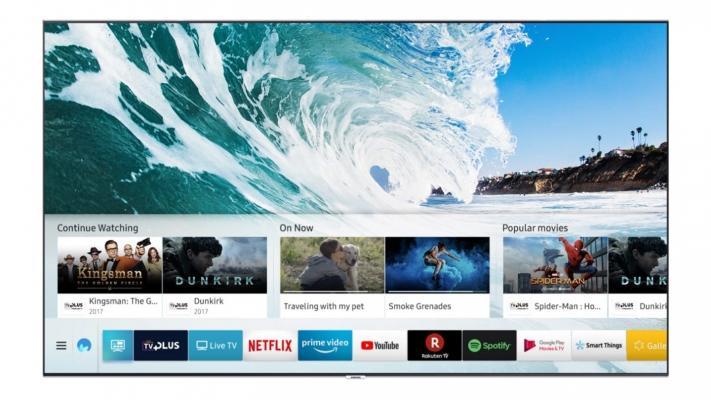 Smart tv tecnologia QLED serie Qled Samsung
