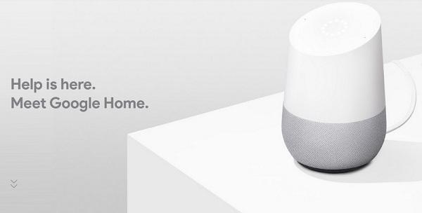 Smart speaker assistant Google Home