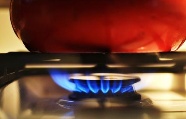 Oltre 100 metri cubi di gas all'anno sono usati per cucinare i cibi