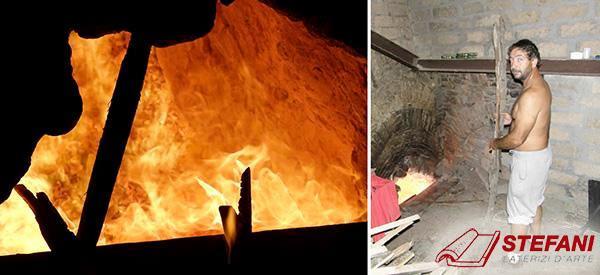 Cottura dei laterizi nella fornace tradizionale, by Cotto Stefani