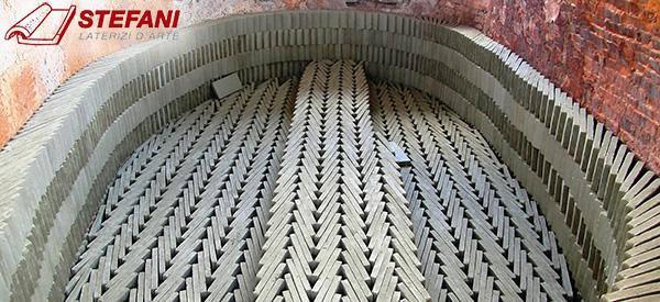 La fornace pronta per la cottura dei mattoni, by Cotto Stefani