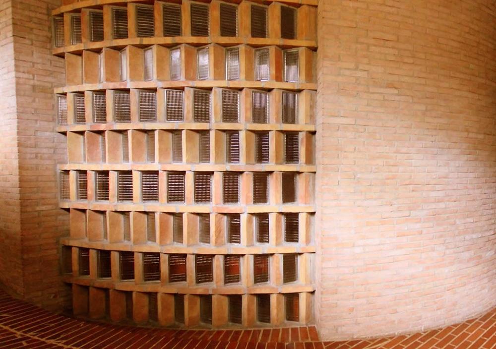 Mattoni fatti a mano della Fornace Stefani nell'architettura contemporanea