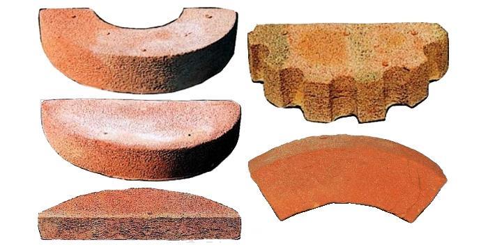 Elementi per colonne di mattoni, by Fornace Fonti