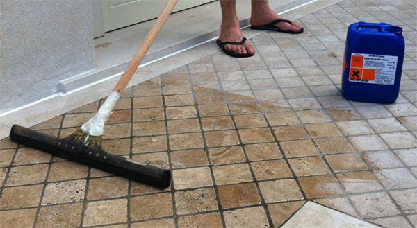 Eliminare le infiltrazioni d\'acqua dal terrazzo