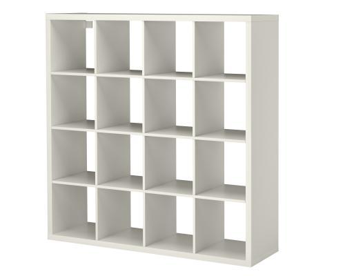 Libreria Ikea per salotto o studio Kallax di Ikea
